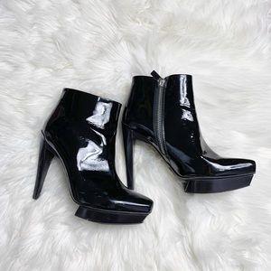 Michael Kors Made In Italy Heels Booties Black